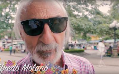Alfredo Molano en el 2º Festival de Cine Jardín